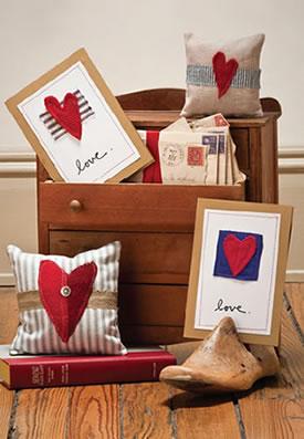 Humble Homespun Heart Sachets