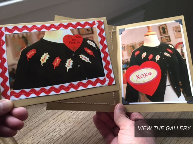Custom Valentine Sweater, Cards